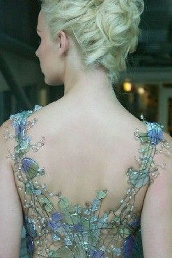 Glamour Mermaids / karen cox.  Glamour Mermaid Gown Glass Dress by Diana Dias-Leao at Broadfield House