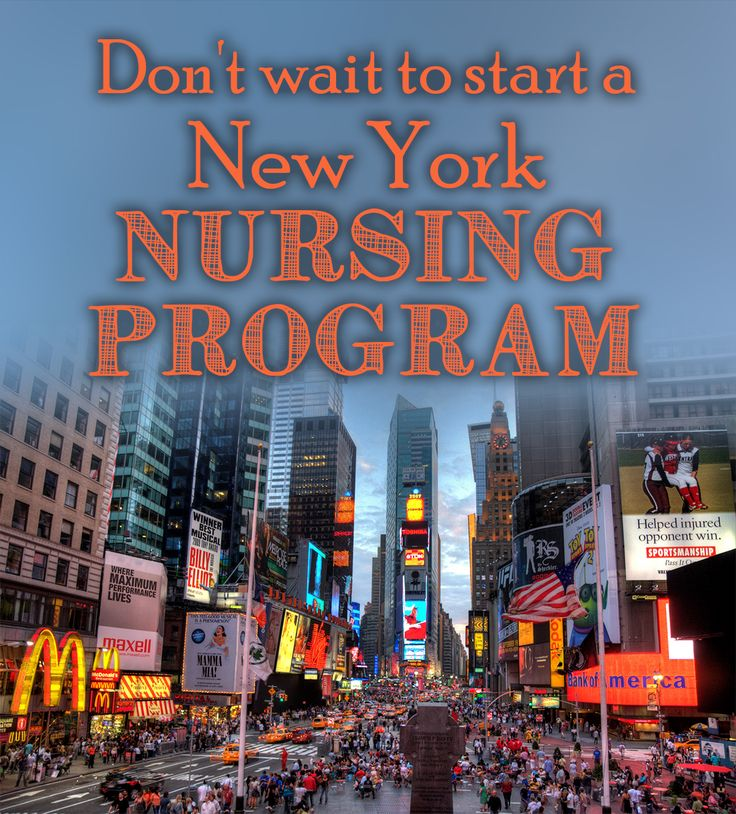 Don't wait to start a New York nursing program, there are other options!