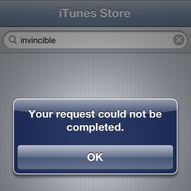 Want to give money to artist but can't because of regional iTunes stores. Ultimate UX fail by music industry!