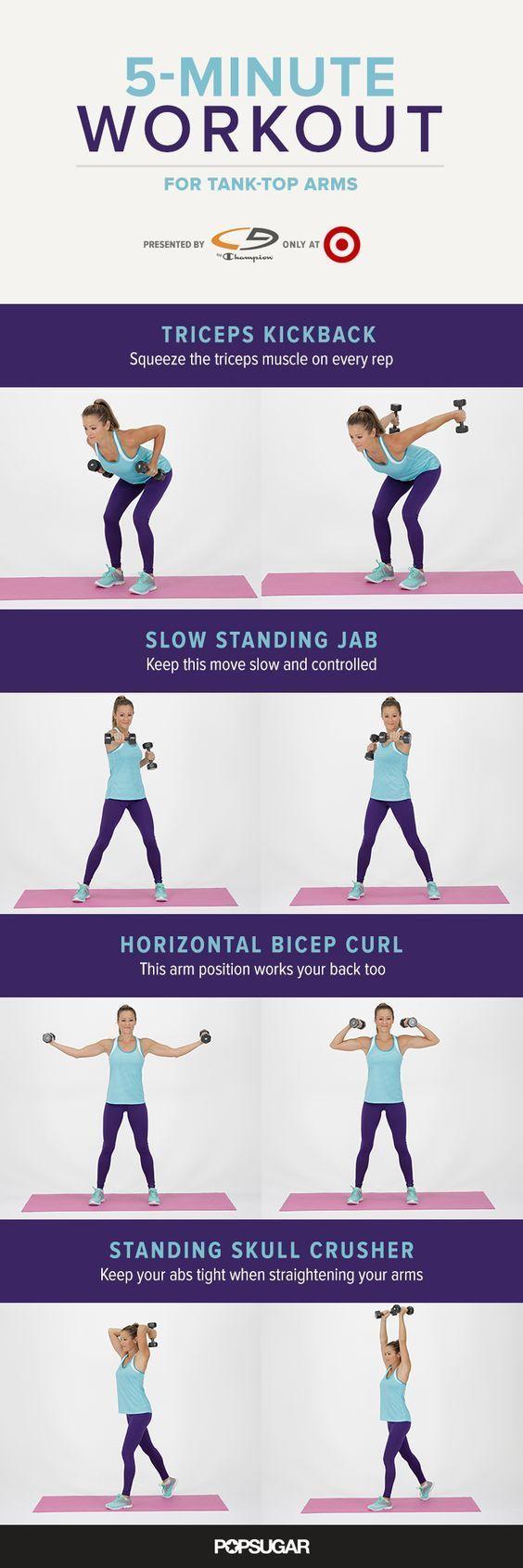 Best 20+ Kettlebell arm workout ideas on Pinterest | Kettle bell ...