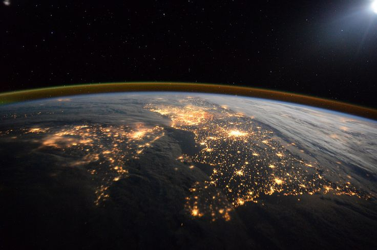 Recognise this bit of the planet? | You Should See The Photos Tim Peake Is Taking From Space