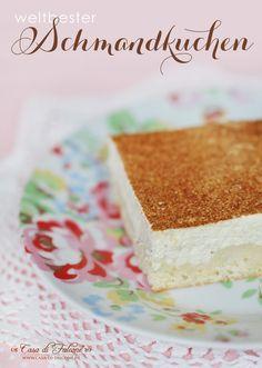 """An so """"schmuddeligen"""" Tagen wie momentan gibt es nichts besseres als ein ordentliches Stück Kuchen und eine Tasse Tee. Das Rezept für den weltbesten Schman"""
