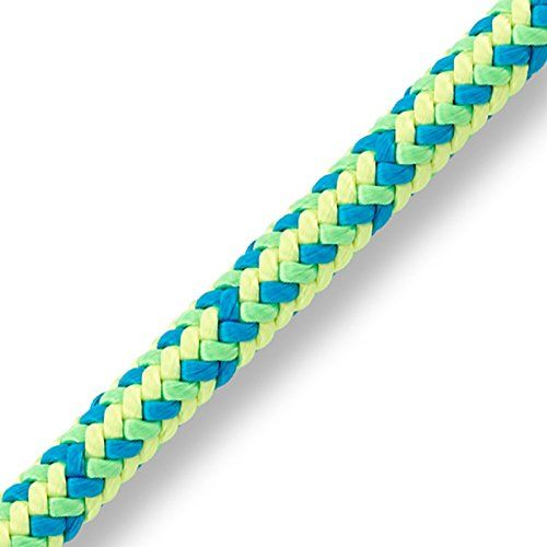 "All Gear Neolite 1/2"" Braided 16-Strand Climbing Rope 150'. Neon Colors Provide Ultimate Visibility. 16-Strand Braided Polyester. Average Tensile Strength: 7,500 lbs. 150' Long."