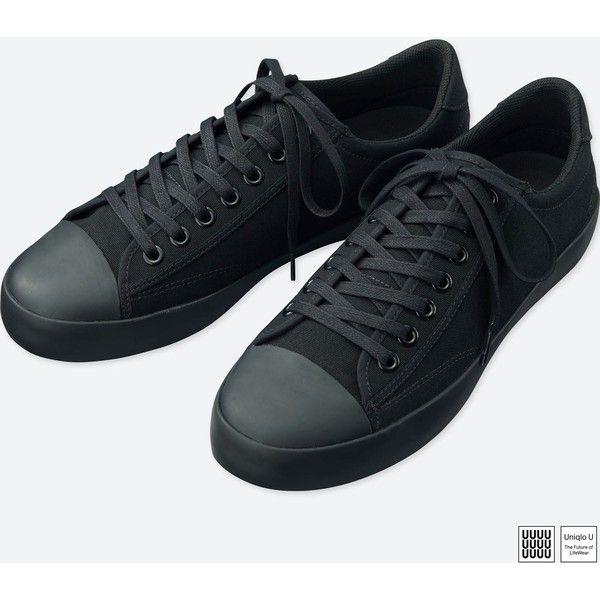 mens black canvas shoes