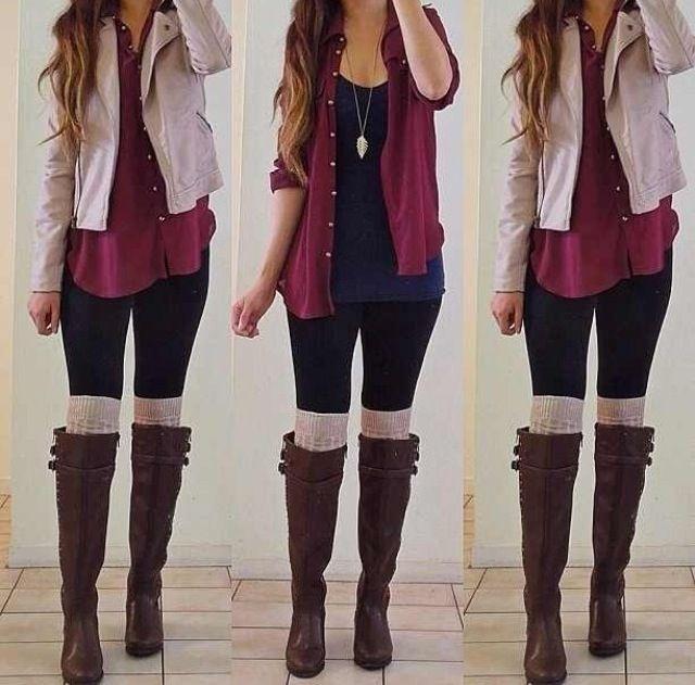 3 dezelfde outfits, maar net iets anders gestylt waardoor het er weer anders uit gaat zien.