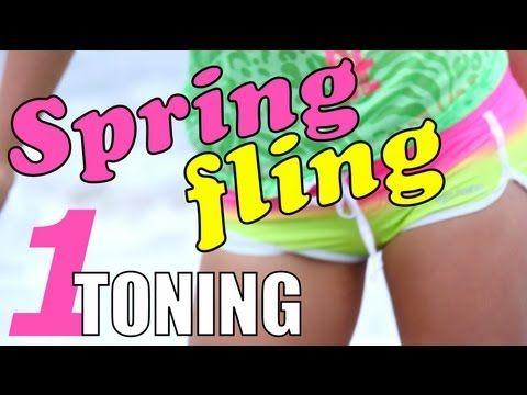 Spring Fling 1: Toning Workout Blog Post and Video
