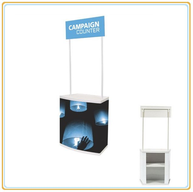 Portable PVC Sales Promotion Table, Promotion Stand Table