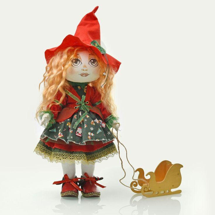 Новогодняя малышка куклы Татьяны Бутузовой
