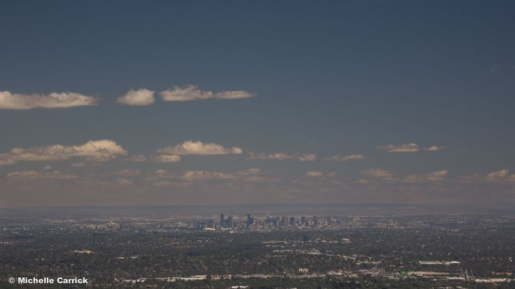 The Melbourne Skyline viewed from Sky High, Mount Dandenong. 100% worth a visit!
