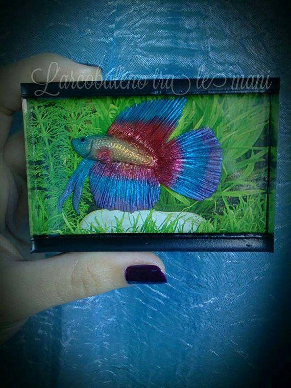 Guarda questo articolo nel mio negozio Etsy https://www.etsy.com/it/listing/493379296/mini-acquario-betta-fish-miniature