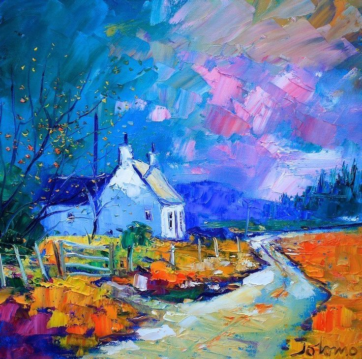 """Autumnlight Isle of Islay"" John Lowrie Morrison"