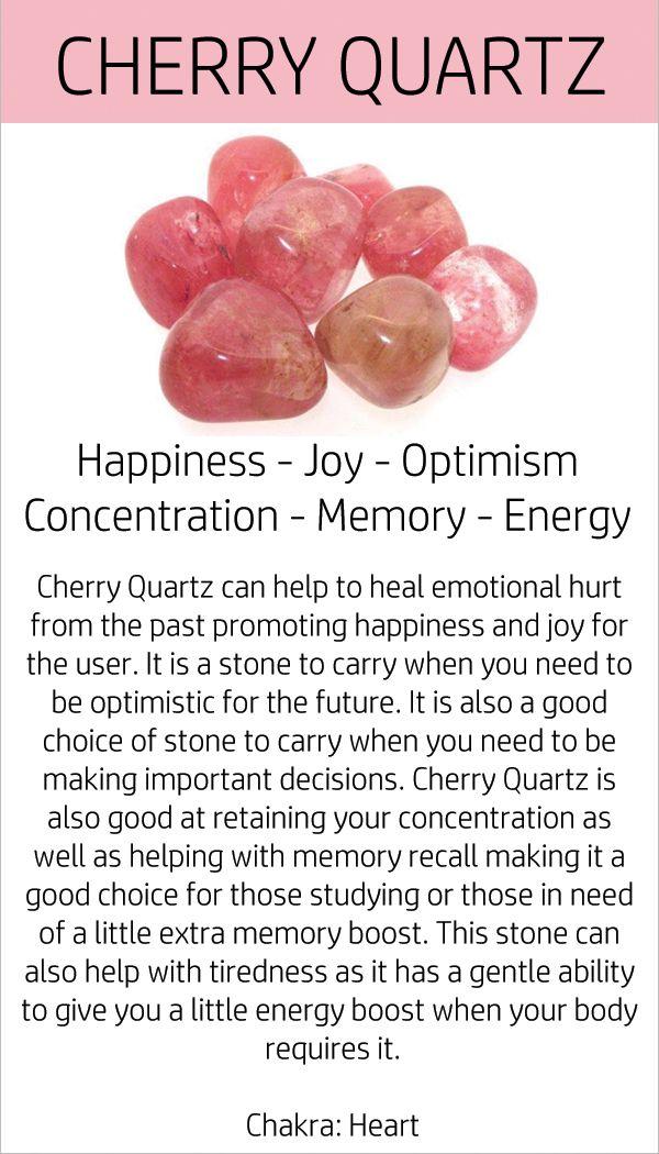 Pretty cherry quartz and quartz set