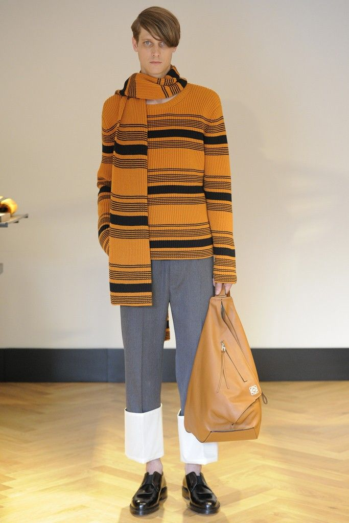 Loewe Men's RTW Spring 2015 [Photo by Dominique Maitre]