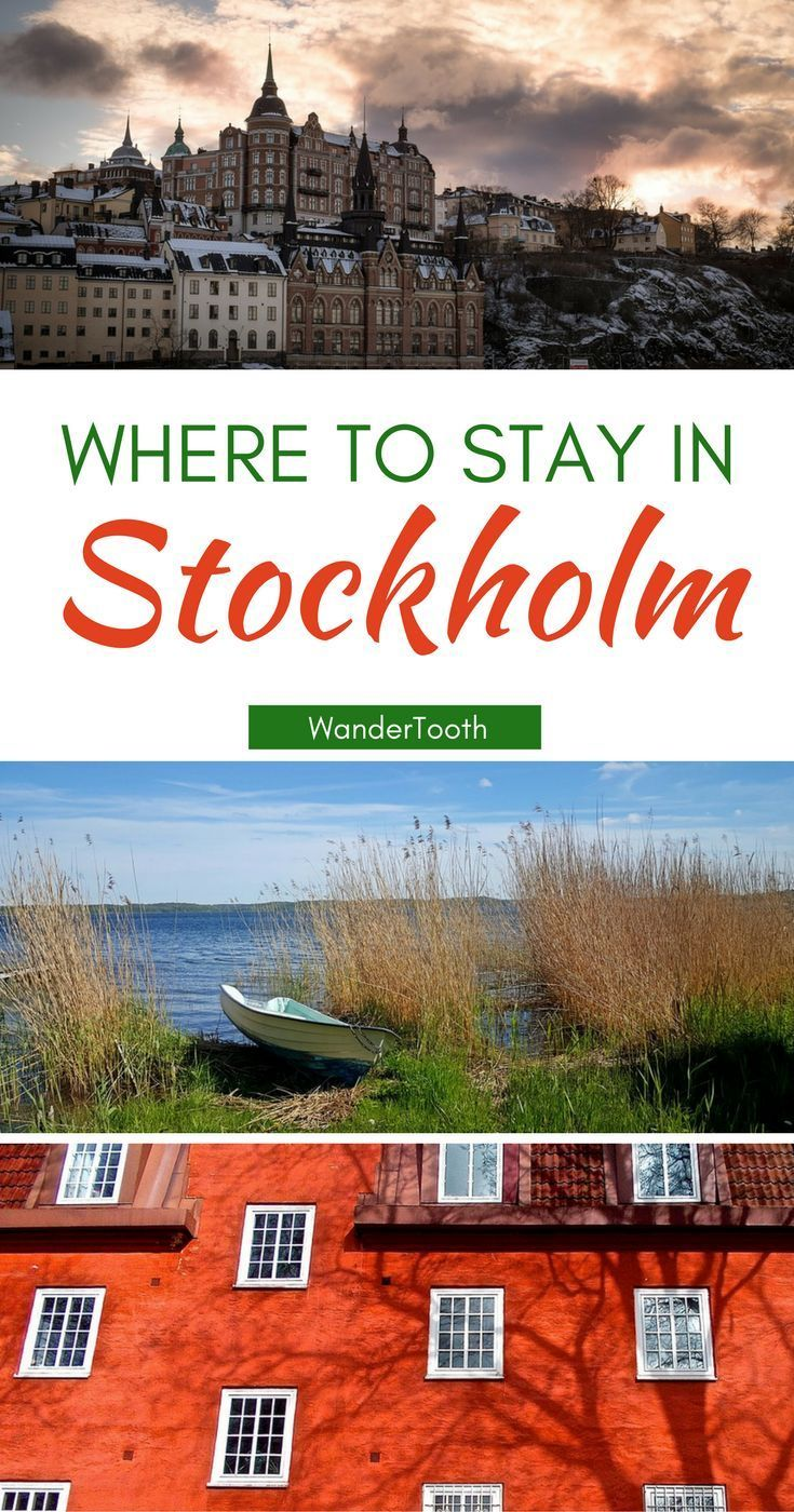 Where to stay in Stockholm, Sweden: all you need to know about Stockholm's best neighborhoods. Tips and recommendations for places to stay in Stockholm. | Stockholm Travel Tips | Stockholm city guide - /WanderTooth/