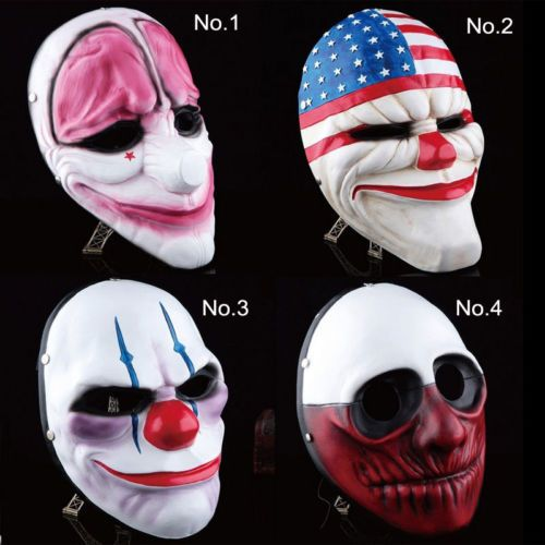 Payday 2 heist wolf dallas #party #chains mask #joker fancy dress halloween prop,  View more on the LINK: http://www.zeppy.io/product/gb/2/122039571064/