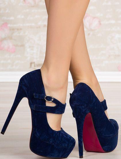 Pantofi Malena - 44.99 lei | Pantofi cu toc inalt de la Bfashion