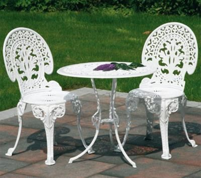 Chapter 1- Furniture. Garden Furniture from the Industrial Revolution, made of cast iron.