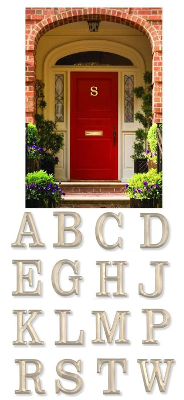 Monogram Door Knocker By Artist Michael Healy Is The Perfect Personalized  Accent For Your Door!