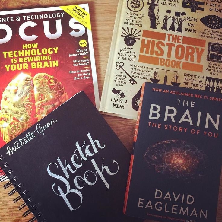 #lazysunday decisions can't decide whether to #read #create #doodle #draw  Orrrr get on with some #domestictodos  (not likely! ) #bbcfocus  #focusmagazine #historybook #davideagleman #thebrain #nonfiction #neuroreads #lifelonglearning #bibliophile #infp #memyselfandi #introverting #bookstagram