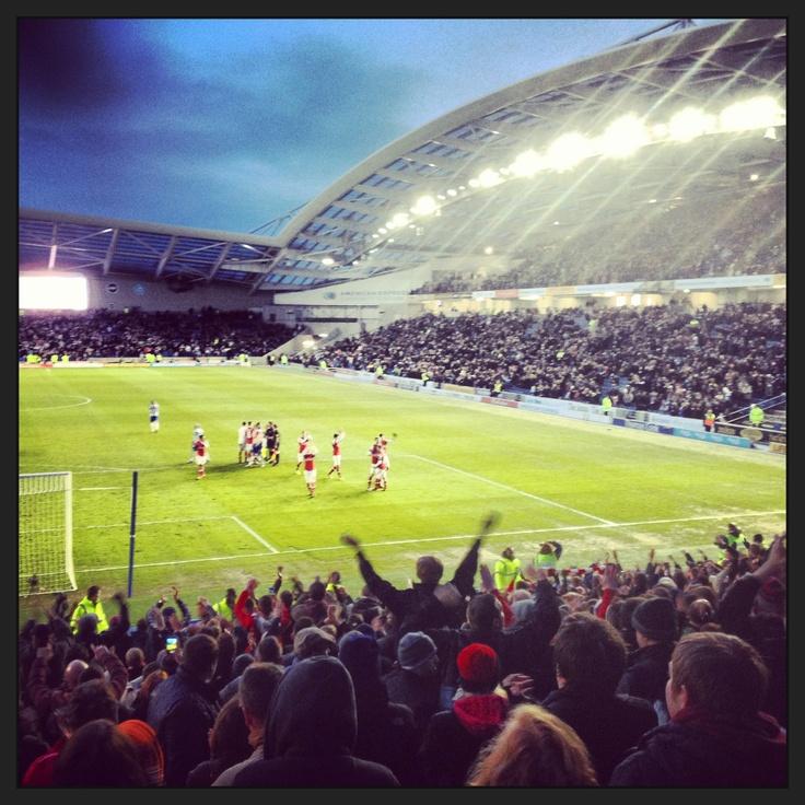 Brighton & Hove Albion FC - Amex stadium, Falmer, Brighton #bhafc