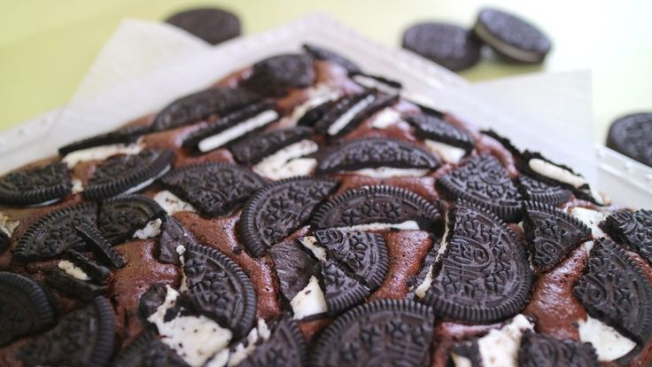 Oreo Brownies オレオブラウニー オレオざくざくでしっとり濃厚~