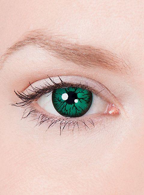 Goblin Kontaktlinsen  #contactlenses #cosplay  #halloween #sfx #larp #green