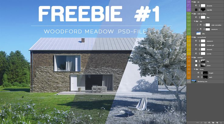 Freebie: post production .psd file on Behance