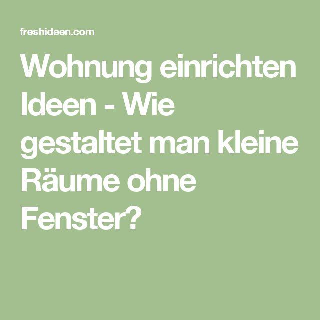 1000+ ideas about Kleine Wohnung Einrichten on Pinterest ...