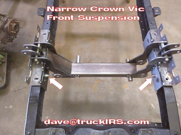 Narrow Crown Vic Front Suspension Crown Frame