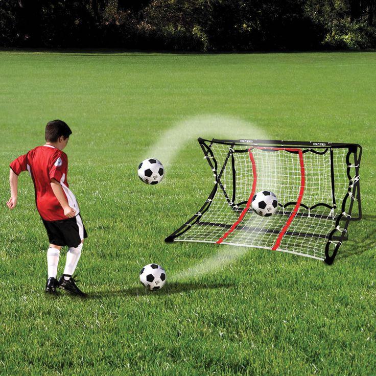Amazing The Ball Returning Soccer Trainer Hammacher Schlemmer