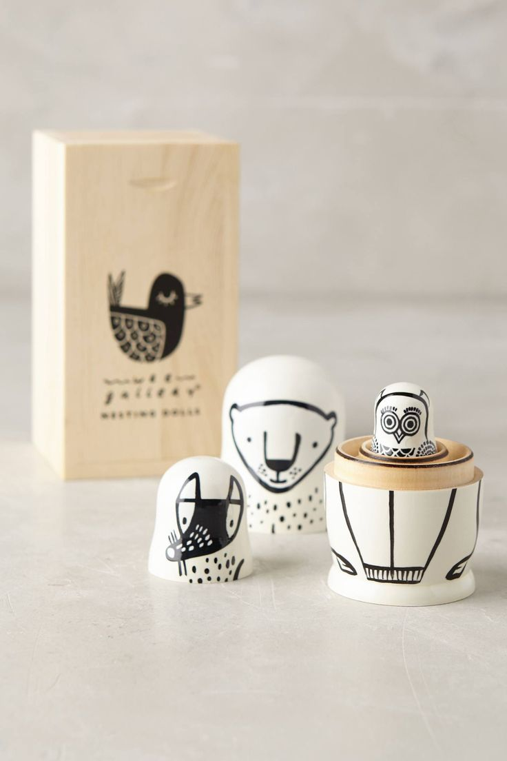 Nesting Critter Dolls | Pinned by topista.com