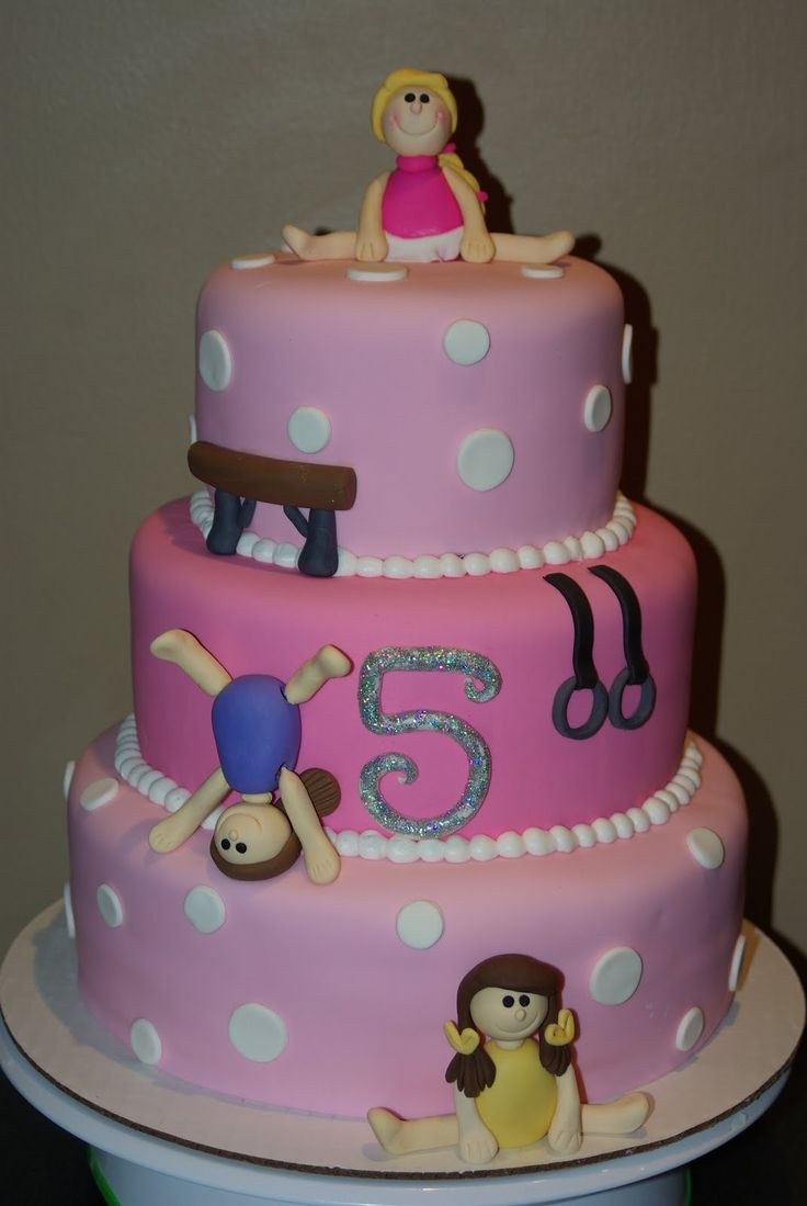 Cake Decorating Ideas Gymnastics : gymnastics birthday cake Gymnastic Cake b-day cake ...