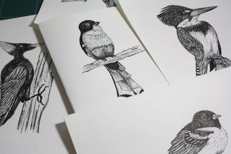 Ilustración y encuadernación artesanal