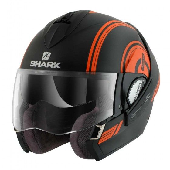 Shark Evoline Series 3 Helmet - Moov Up Black / Orange