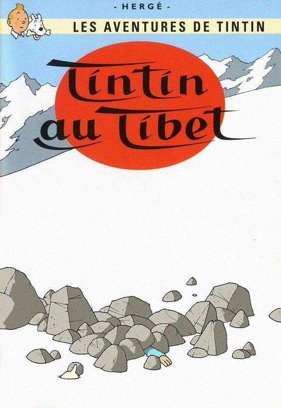 Les Aventures de Tintin - Album Imaginaire - Tintin au Tibet: