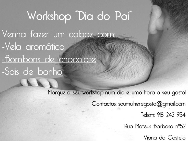 Workshop Dia do Pai