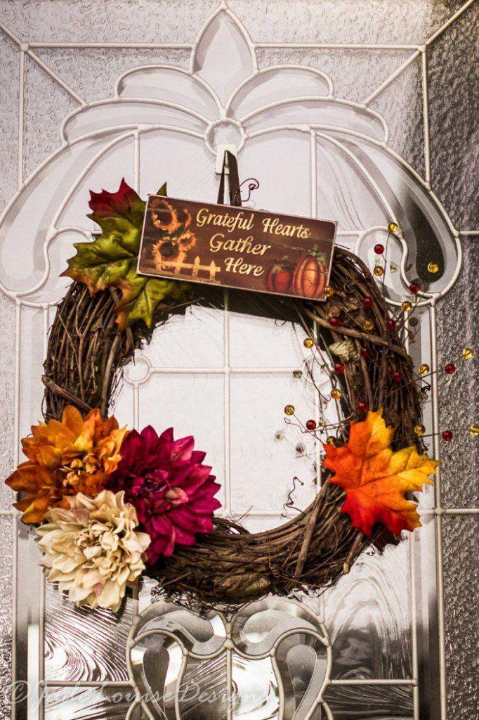 13 Wreath Ideas for Your Thanksgiving Door