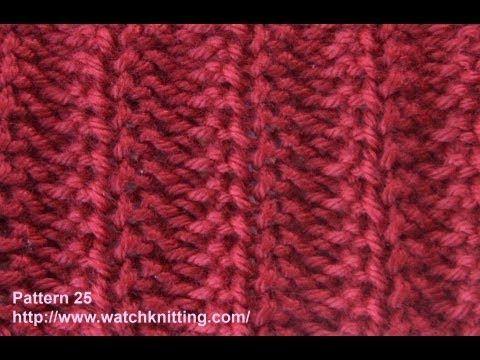 Jerseys Knitting Patterns- Free Knitting Tutorials - Watch Knitting - pattern 25