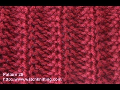 Jerseys Knitting Patterns- Free Knitting Tutorials - Watch Knitting - pattern 25