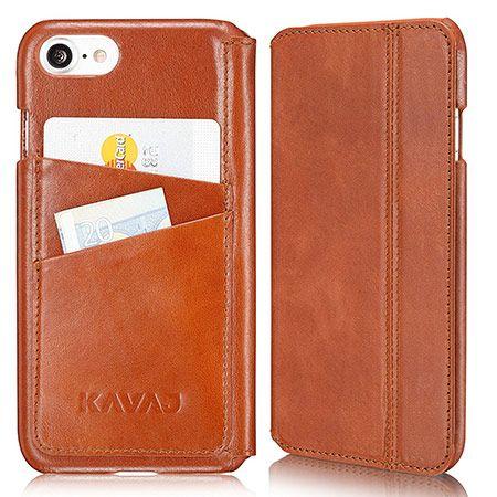 KAVAJ Slim Fit Leather iPhone 8 Case