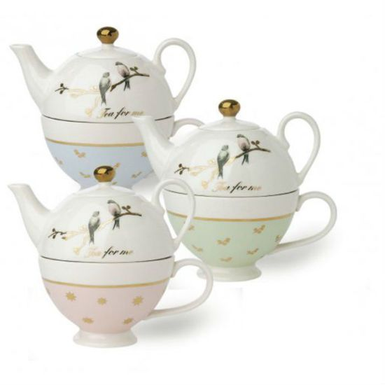 miss etoile teapot for one birds 55 perch home. Black Bedroom Furniture Sets. Home Design Ideas