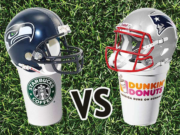 Dunkin' Donuts vs. Starbucks.  Who's the winner?  Dunkin' of course!  Is there any questions?  Nope, didn't think so!