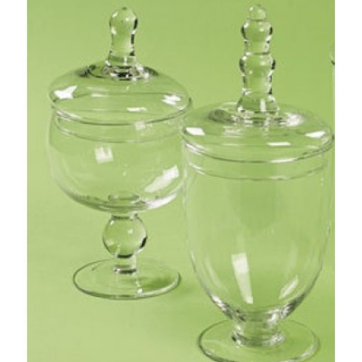 Candy Buffet Apothecary Jars (Set of 2 Vases = $10.99/Vase) BEST SELLER! [Set of 2 Apothecary Jars] : Wholesale Wedding Supplies, Discount Wedding Favors, Party Favors, and Bulk Event Supplies