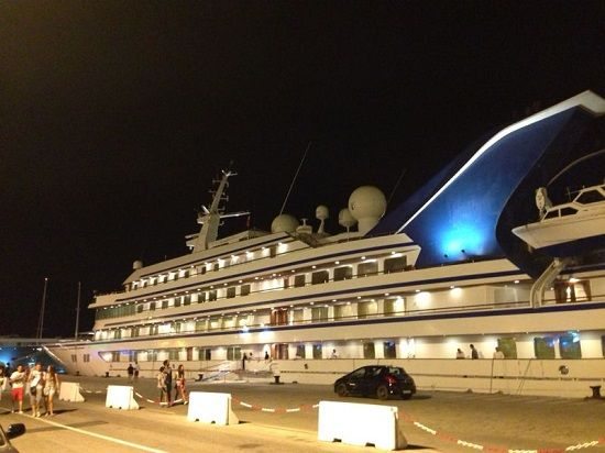 the superyacht Prince Abdulaziz 147m owned by the Saudi Royal Family in Ibiza Aug 2013 .. from Superyacht Times  ,, http://www.superyachttimes.com/editorial/2/article/id/10986 .. also in DIARIO DE IBIZA on Aug 13  2013 .. http://www.diariodeibiza.es/pitiuses-balears/2013/08/13/prince-abdulaziz-yates-lujosos-mundo/638513.html