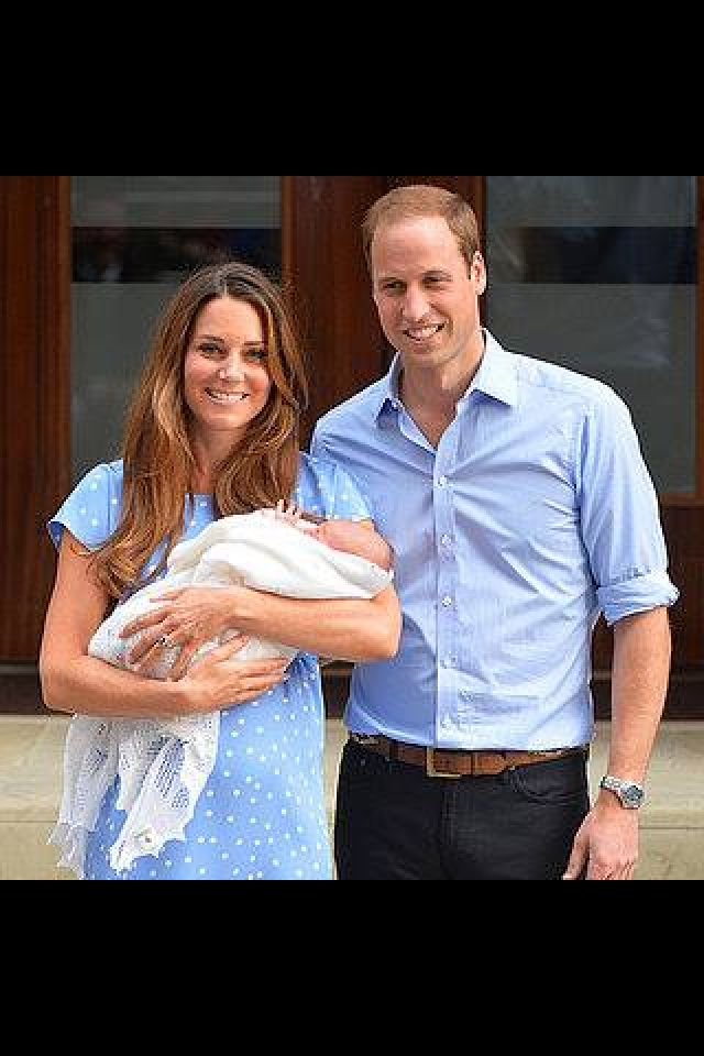 Royal baby - how does she manage to look like this 24hrs after a normal delivery
