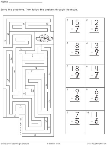 33 Best Free Math Materials Images On Pinterest Touch Math Free