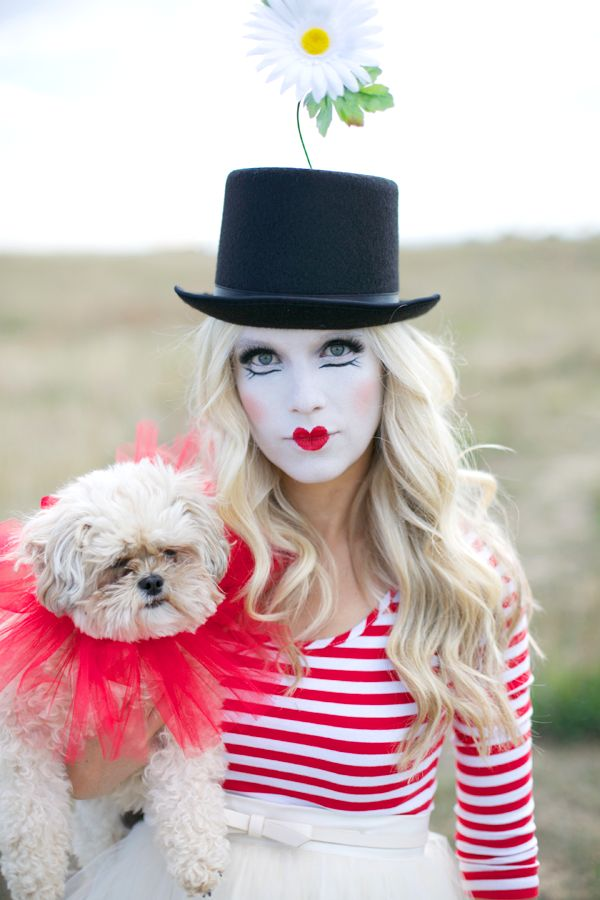 GORGEOUS french clown! looove the idea!
