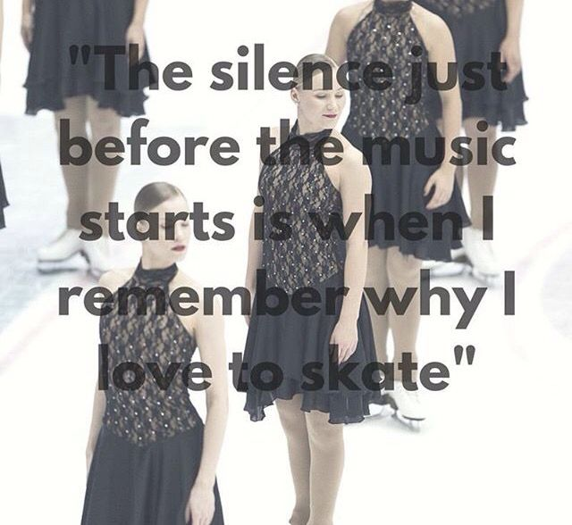 """""""The silence just before the music starts is why I love to skate"""""""