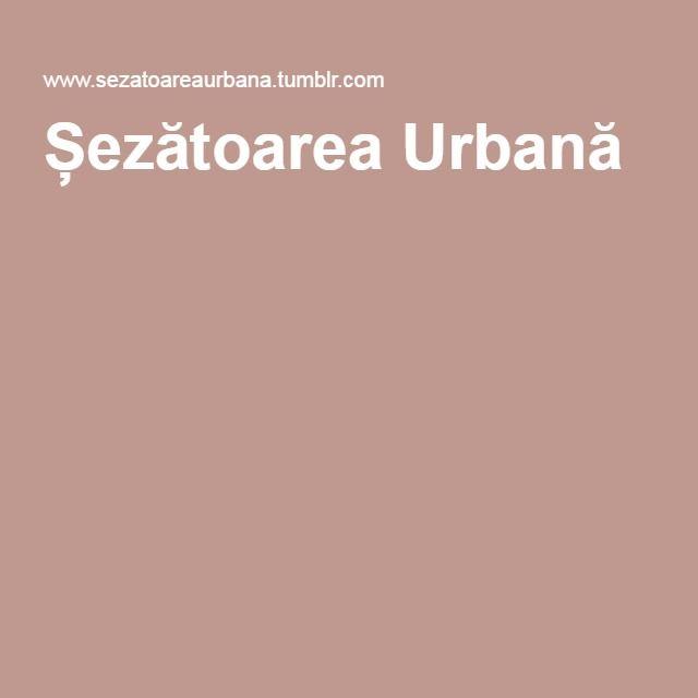 Șezătoarea Urbană