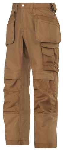 Snickers Work Trousers 3214 with Kneepad & Holster Pockets (Brown/Brown 1212) | eBay